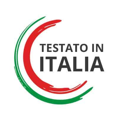 testato in italia Sigillo di qualità